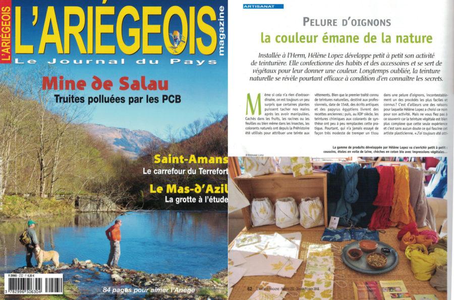 Presse | L'Ariégeois Magazine